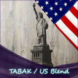 TABAK / US Blend (USA) S & V 120ml Liquid